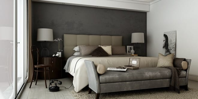 schlafzimmer grau mit wandfarbe graut ne freshouse. Black Bedroom Furniture Sets. Home Design Ideas