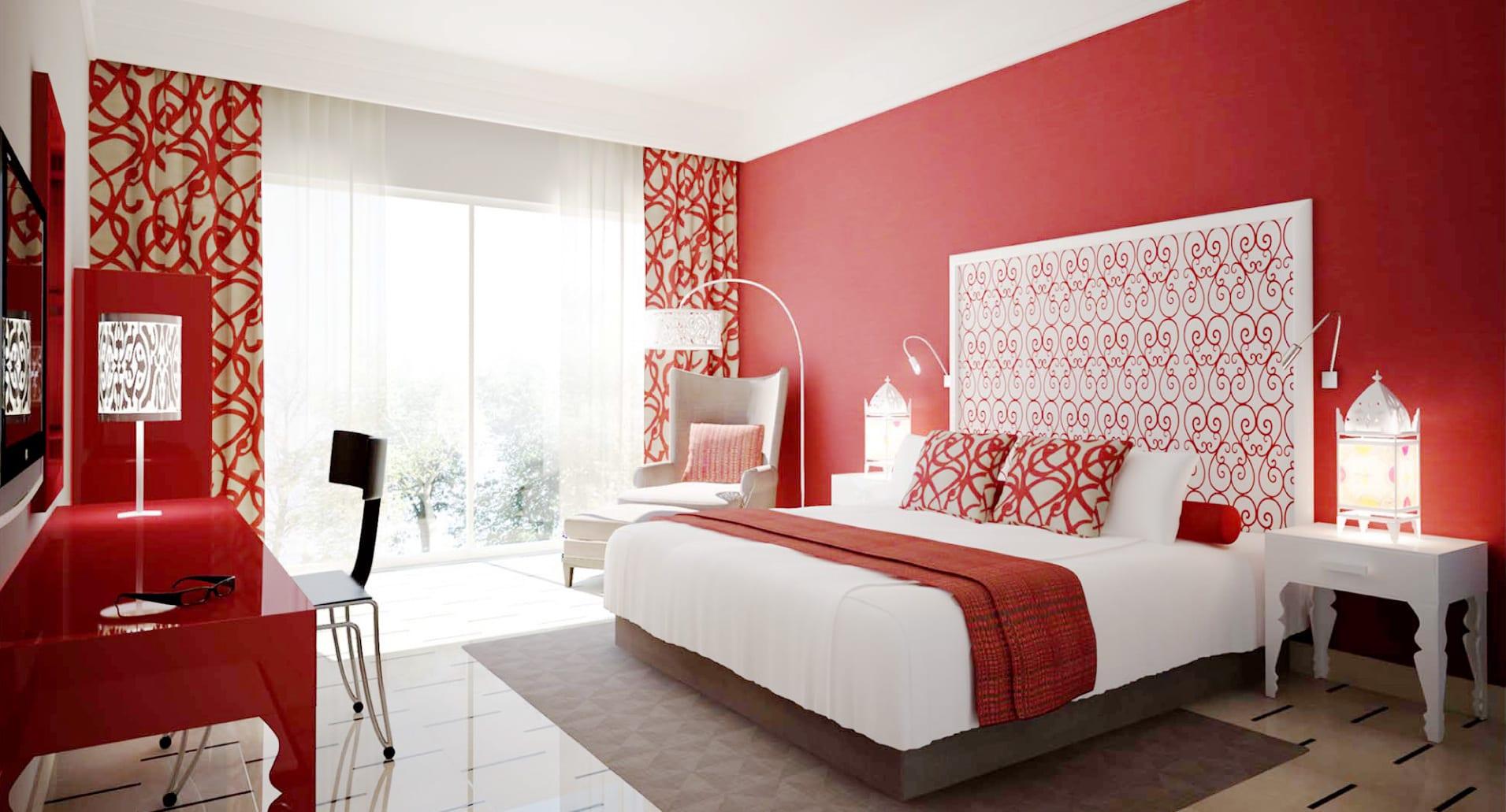Schlafzimmer Rot - 17 Schlafzimmer Inspirationen in rot - fresHouse