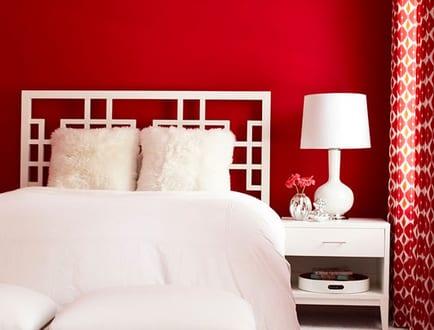 Schlafzimmer Rot – 50 Schlafzimmer Inspirationen in rot