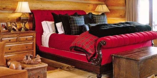 schlafzimmer rotrustikale schlafzimmer einrichtung