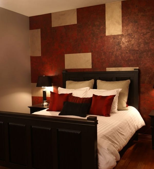 kleines schlafzimmer farbgestaltung