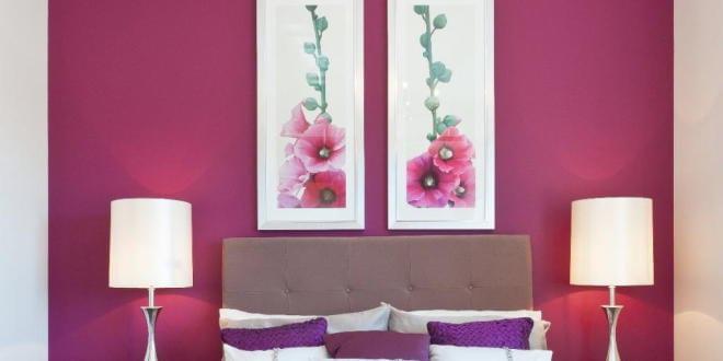Schlafzimmer wandfarbe schlafzimmer dekorieren freshouse - Hochzeit schlafzimmer dekorieren ...