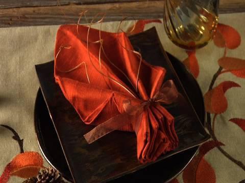 tisch eindeken - DIY Tischdeko Idee