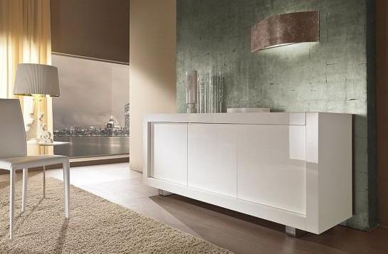 modernes wohnzimmer - grüne Wandfarbe mit wandleuchte silber