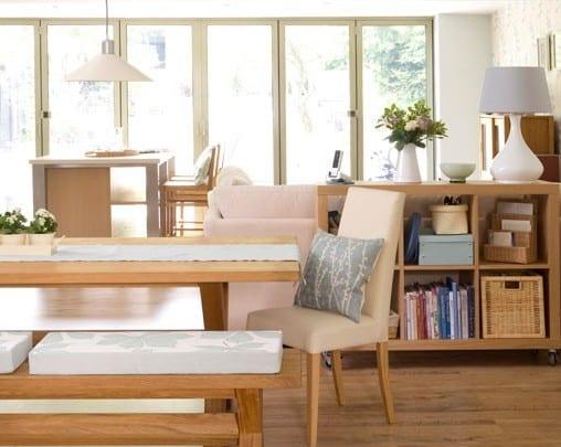 moderne wohnzimmer mit Holz-Interior-Design-Ikea Einrichtungsidee wohnzimmer