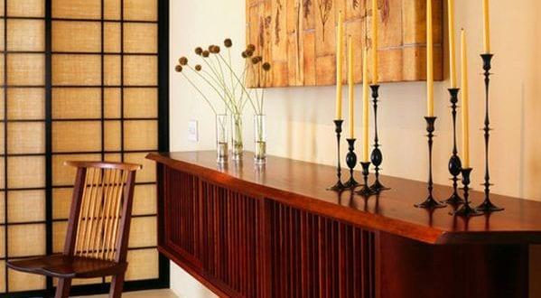sideboard mit kerzen dekorieren freshouse. Black Bedroom Furniture Sets. Home Design Ideas