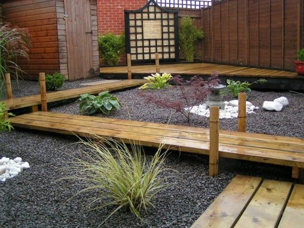 steingarten 60 ideen japanischer gartengestaltung f r einen traumgarten freshouse. Black Bedroom Furniture Sets. Home Design Ideas
