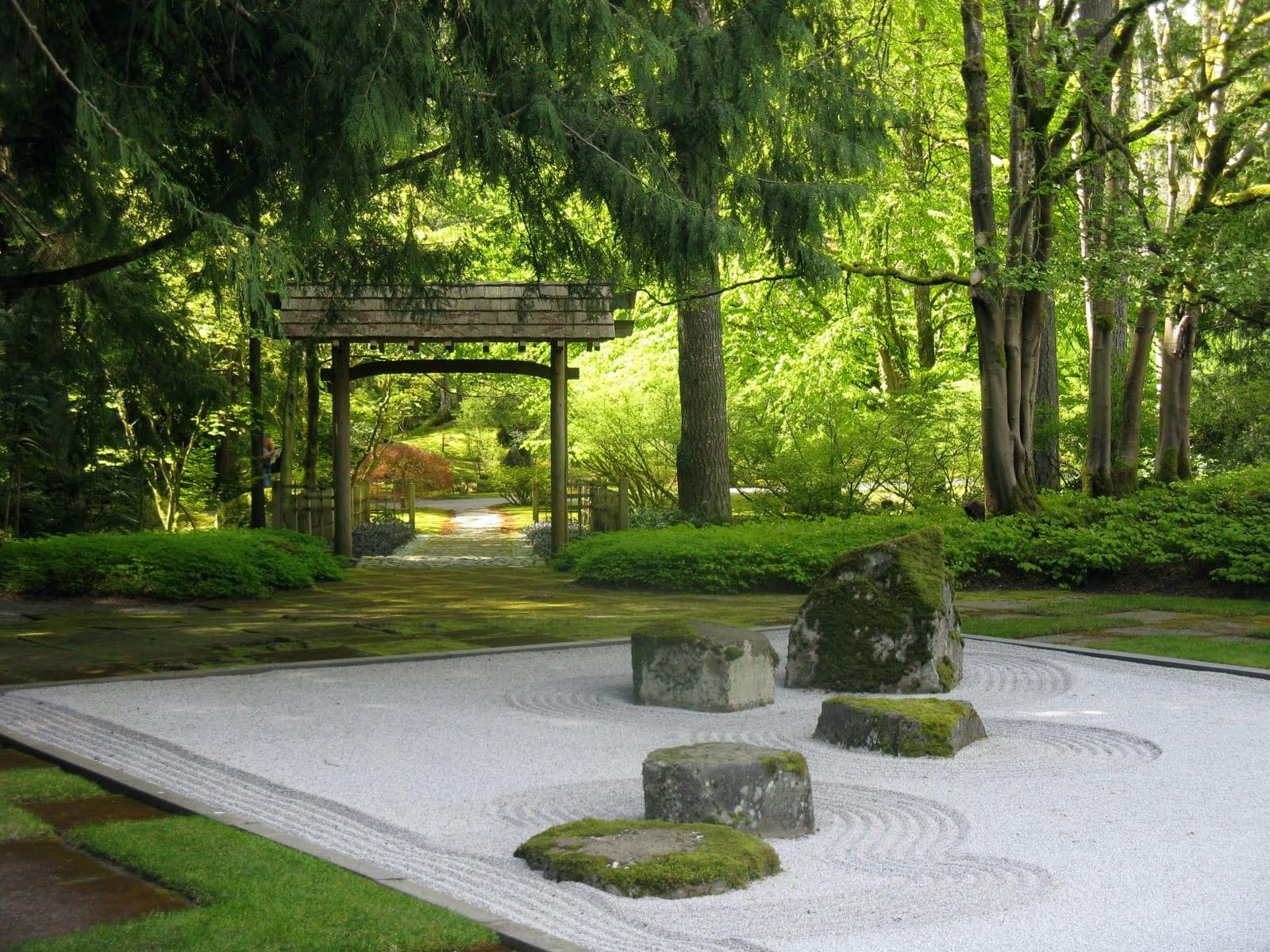 steingarten- 60 ideen japanischer gartengestaltung für einen, Terrassen ideen