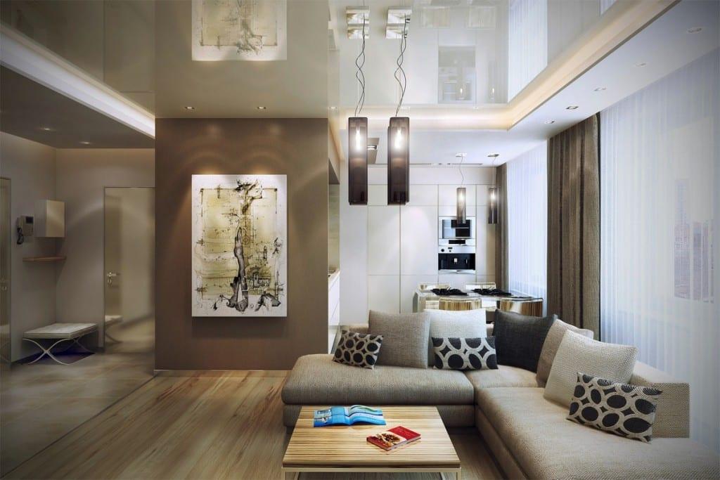 wohnzimmer braun - wohnzimmer inspirationen der braunen, Deko ideen