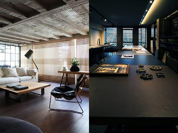 loft wohnung design mit luxus wohnzimmer