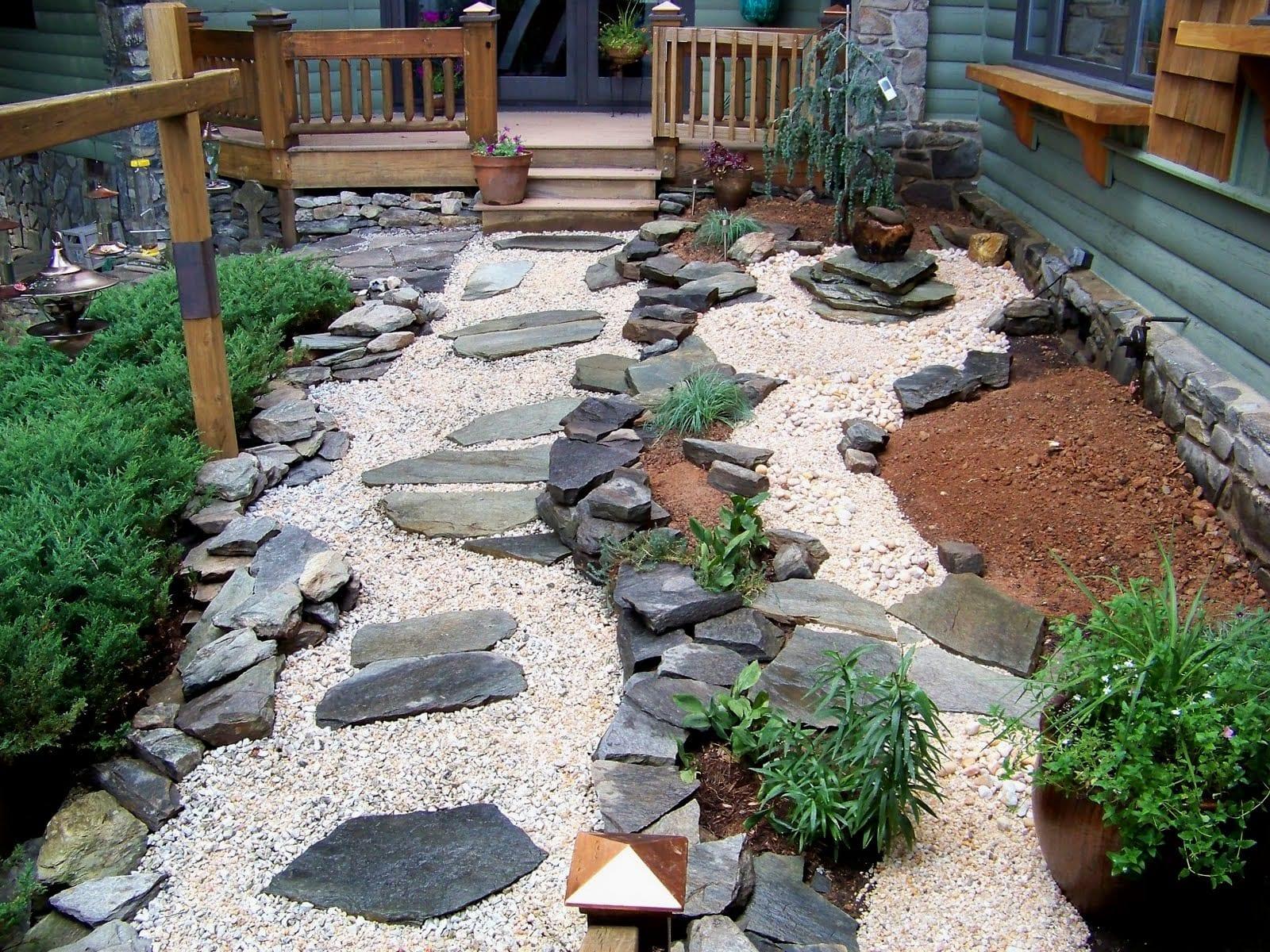Garten japanischer stil  Steingarten- 60 Ideen japanischer Gartengestaltung für einen ...
