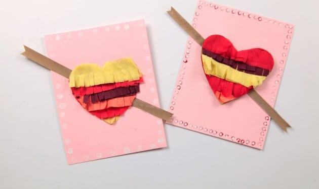 valentinstagkarte bastelideen