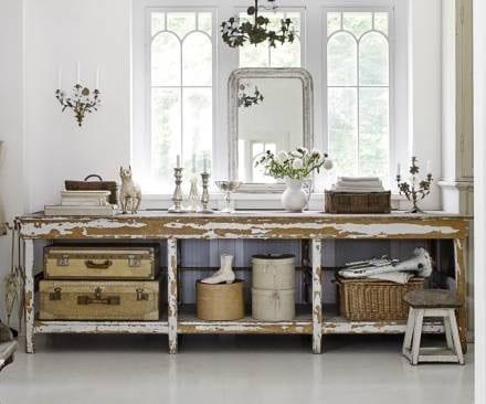 zimmmer dekorieren-vintage interior design ideen