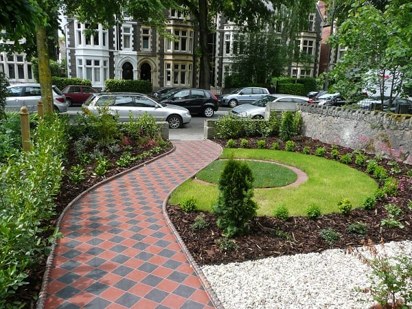 kleiner vorgarten gestalten