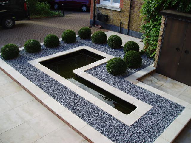vorgarten - ideen fürs vorgarten gestalten - freshouse, Gartenarbeit ideen
