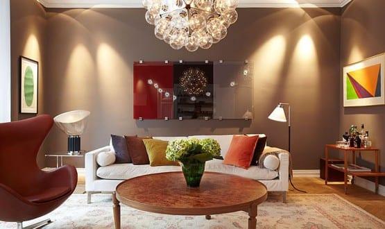 wandfarbe braun-ideen für wandgestaltung - fresHouse