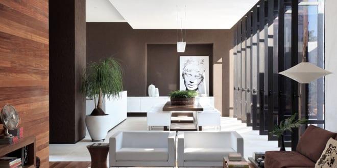 wandfarbe braun-luxus wohnzimmer - fresHouse