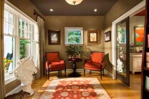 wandfarbe braun-wohnzimmer gestalten - fresHouse
