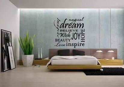 wandtattoo spr che ideen f r kreative wandgestaltung frisch mobel. Black Bedroom Furniture Sets. Home Design Ideas