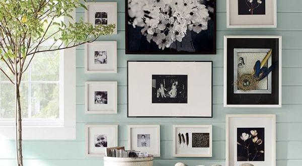 wei e und schwarze bilderrahmen dekorieren freshouse. Black Bedroom Furniture Sets. Home Design Ideas
