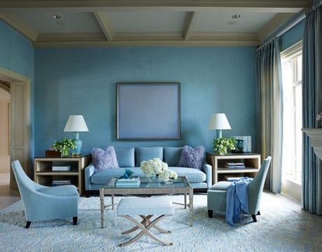 deckengestaltung - gardinen blau-seats and sofas hellblau