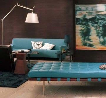 wohnzimmer blau braun ~ ihr ideales zuhause stil - Wohnzimmer Braun Blau