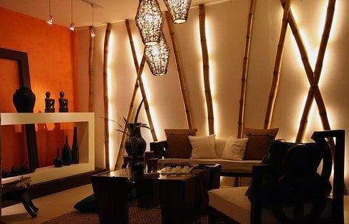 wohnzimmer gestalten - bambus deko wohnzimmer - freshouse - Wohnzimmer Gestalten Orange