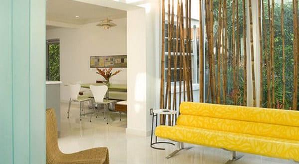 wohnzimmer gestalten mit sichtschutz aus bambusst ben freshouse. Black Bedroom Furniture Sets. Home Design Ideas