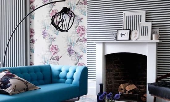 wohnzimmer gestalten sch ner wohnen farbrausch wei und schwarz freshouse. Black Bedroom Furniture Sets. Home Design Ideas