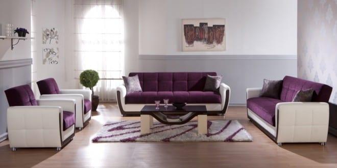 Wohnzimmer Gestalten Lila