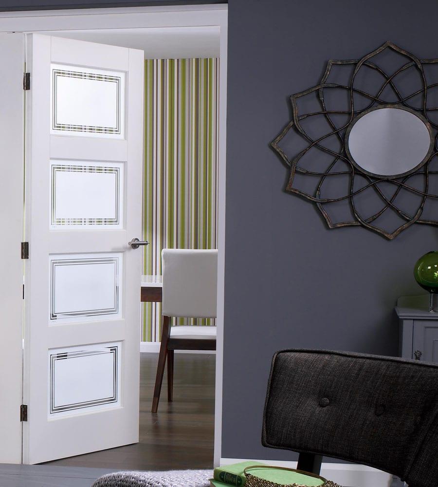 Innentüren weiß - 50 elegante Modelle weißer Interior Türen ...