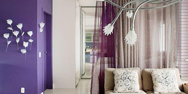 gardinen lila. Black Bedroom Furniture Sets. Home Design Ideas