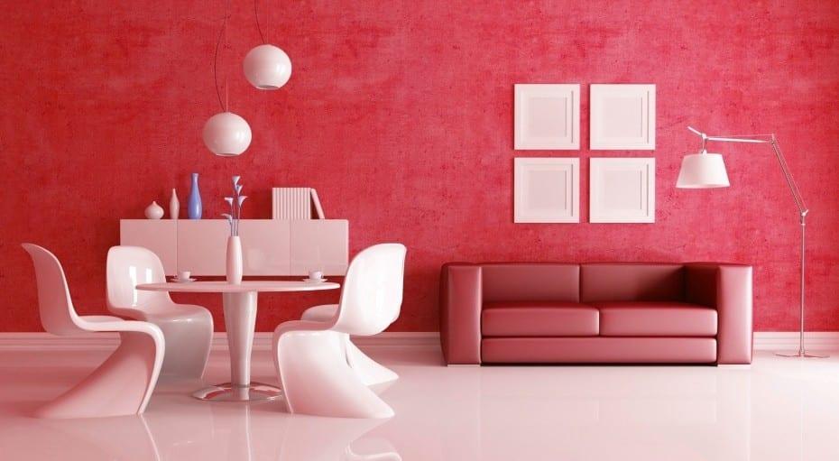 wohnzimmer rot dekorieren:Wohnzimmer Farben: Farbgestaltung wohnideen für farben im wohnzimmer