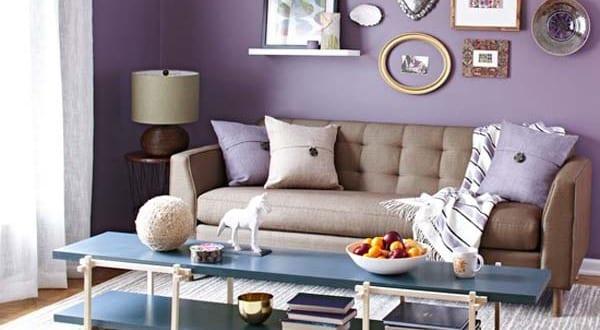 wohzimmergestaltung wohnzimmer lila freshouse. Black Bedroom Furniture Sets. Home Design Ideas