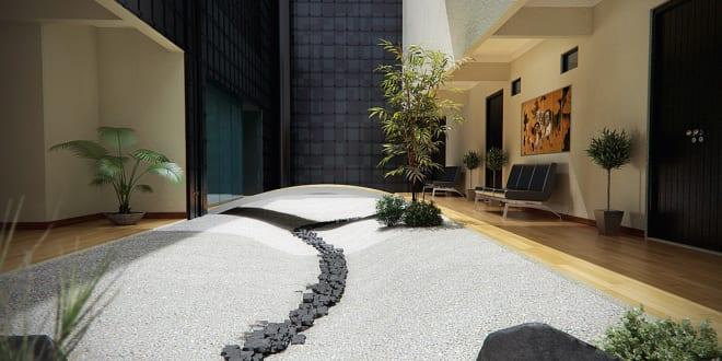 zen garten design-traumgarten im wohnraum - freshouse, Garten ideen gestaltung