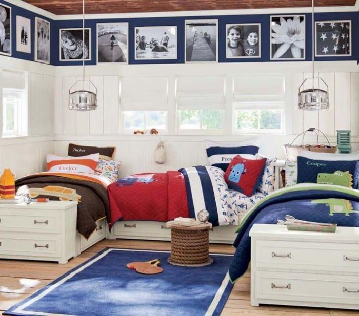 kinderzimmer weiß - kinderzimmer teppich blau-kinder bettwäsche