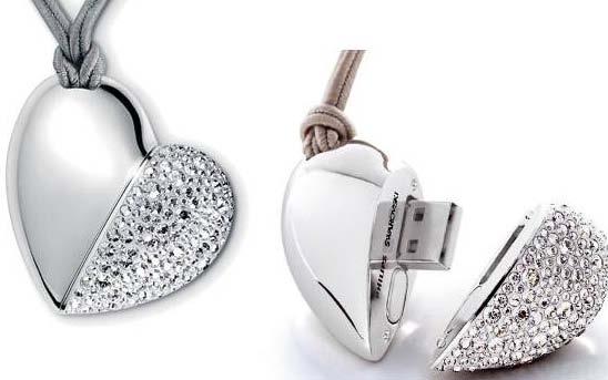 Großartig USB Halskette. Valentinstag Coole Geschenkideen