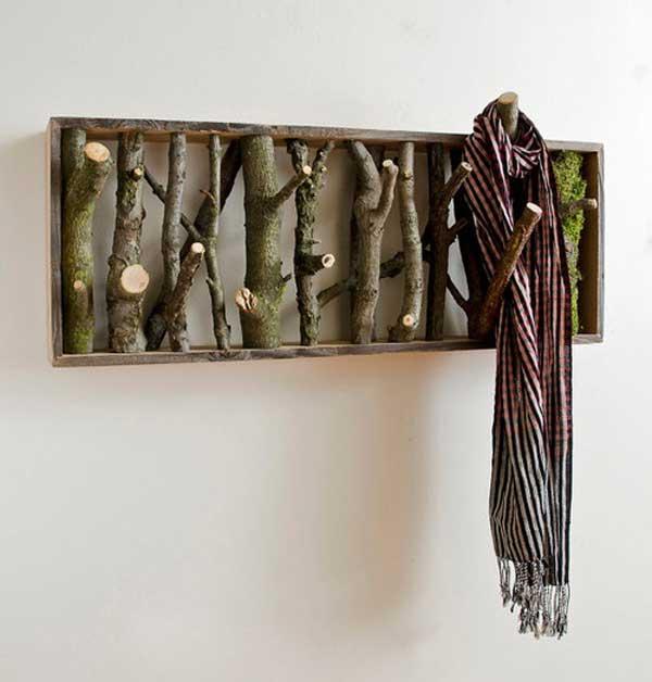basteln mit naturmaterialien - 42 coole bastelideen - freshouse, Wohnideen design