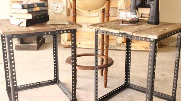 diy beistelltisch aus paletten freshouse. Black Bedroom Furniture Sets. Home Design Ideas