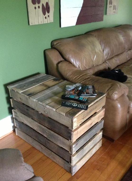 beistelltisch aus holz selber bauen. Black Bedroom Furniture Sets. Home Design Ideas