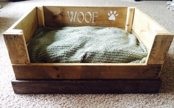 hundebett aus paletten