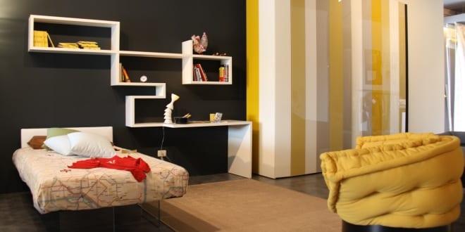 Ikea-Schlafzimmer Inspiration in schwarz und gelb - fresHouse
