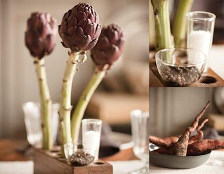 artischocken für fantastische dekoration-deko selber machen