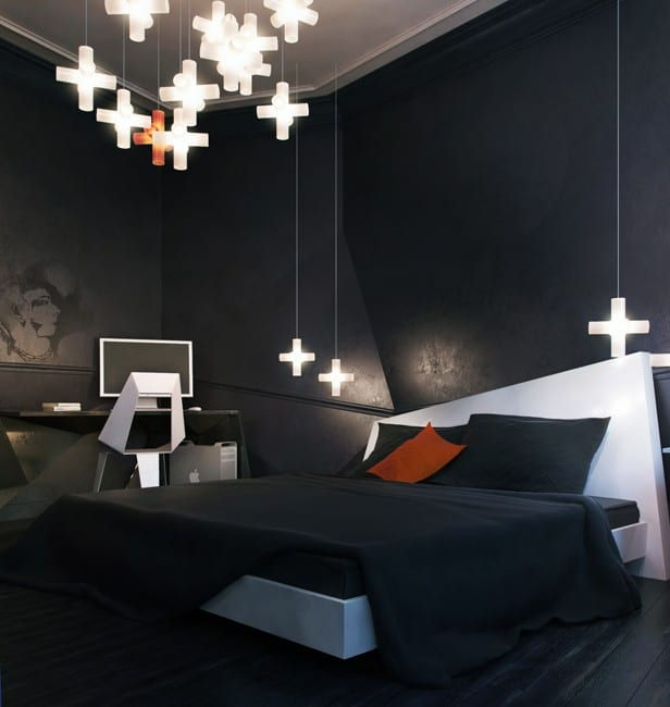 Schlafzimmer set schwarz