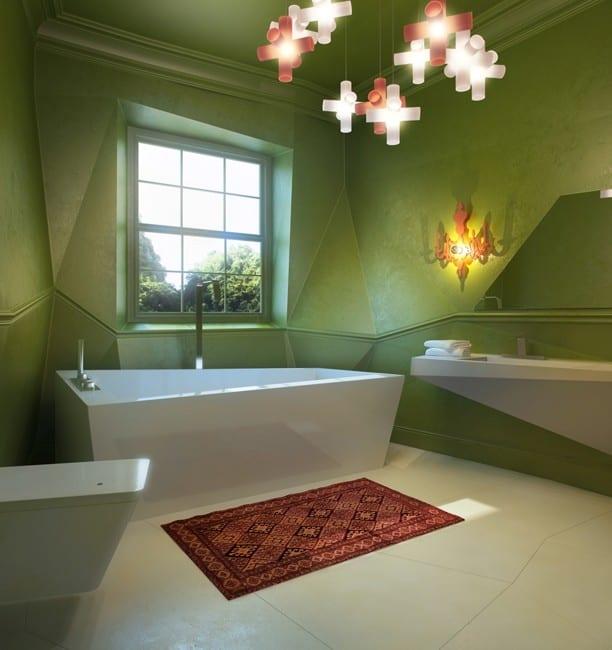 badezimmer streichen ideen-interessantes interior ideen fürs badezimmer