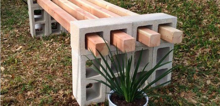 coole bastelideen für DIY Gartenmöbel