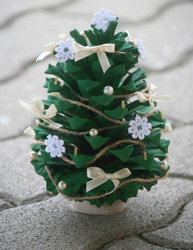 Diy Weihnachtsdeko Aus Zapfen