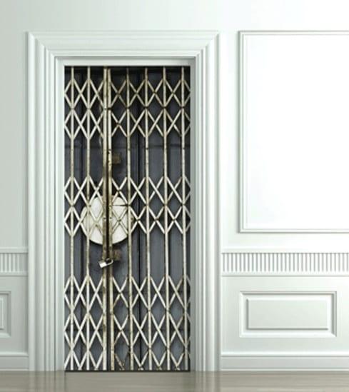 innentüren verschönern mit fototapete für Optische Täuschung
