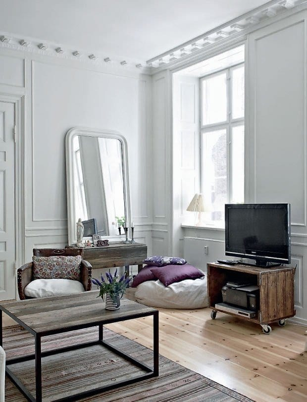 coole beispiele wohnzimmer f r rustikale. Black Bedroom Furniture Sets. Home Design Ideas