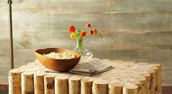 couchtisch selber bauen aus birke-basteln mit naturmaterialien - fresHouse